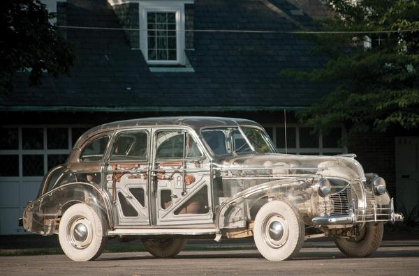 1939 Pontiac Plexiglas Deluxe Six Ghost Car Credit Aaron Summerfield  c 2011 Courtesy of RM Sotheby s