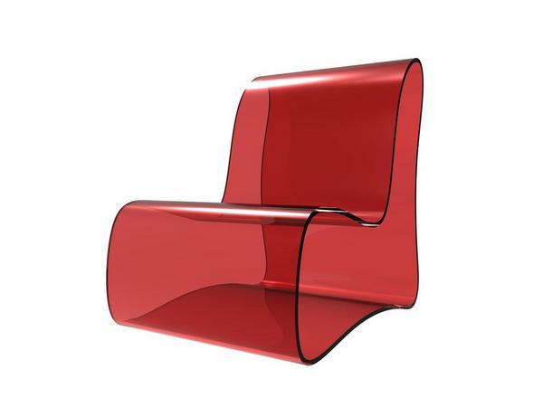 Stol i plexiglas  shutterstock 120580222